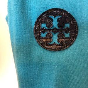 Tory Burch Dresses - Tory Burch Gigi Shift Dress Reva Logo Turquoise